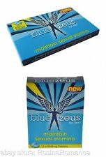 Blue Zeus Him Supplement Capsules 850mg Erectile Dysfunction Impotence Aid