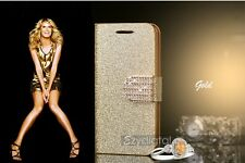 New Bling Bling Glitter Gold Silver Pink iPhone 6 plus 5 5s case cover wallet