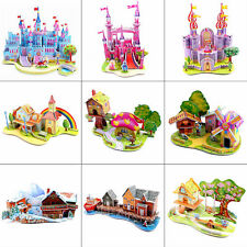 Useful 3D Jigsaw Puzzle Baby Kids Wisdom Development Hand Paper Toy Playthings