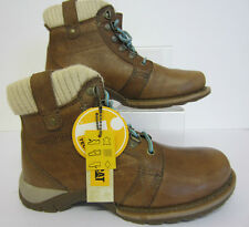 "Cat Women Cashew Brown 5"" Boot Clarity P305148 Size 5-10 (R22)"