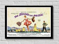 Vintage The Sound Of Music Movie Film Poster Print Picture A3 A4