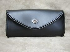 Motorcycle Leather Windshield Bag The Leatherworks 79 US Made 5.5″ x 11″ x 3″