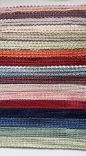 2 Metres 15 or 12 mm Woven Braid Trim Upholstery Lampshade Curtains Blinds