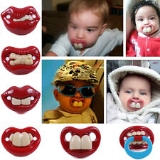BILLY BOB Pacifiers Dummy Baby Teether Pacy Orthodontic Nipples Chomp HOT