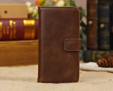 LEATHER BOOKLET CASE FOR IPHONE 5C