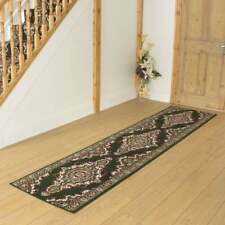 Turkesh Green - Hallway Carpet Runner Rug Traditional Hall Extra Very Long Cheap