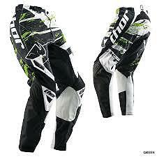 Thor Riding Gear S13 Phase SP  Black Green Riding Pants