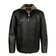 Mercedes Benz Men's Leather Jacket produced by Andrew Marc M-2XL