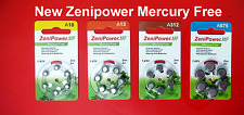 Zenipower Hearing Aid Batteries 10,312,13, 675 Value Pack 6 batteries