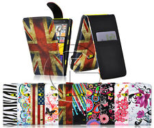 NOKIA LUMIA 625 MAGNETIC PU LEATHER FLIP WALLET CASE COVER & SCREEN PROTECTOR