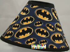 Super Hero Batman and Robin Lamp Shade (All Handmade After Order is Placed)