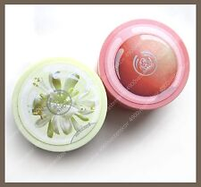 the body shop pink grapefruit body scrub gelee/ moringa cream body scrub 50ml