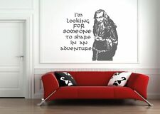 wizard gandalf lord of the rings wall sticker,toy/dvd,sticker/hobbit,book,film