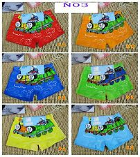 Fashion Kids Boys Cartoon Child Thomas Boxer Shorts Underwear Size M 4-6yrs N03