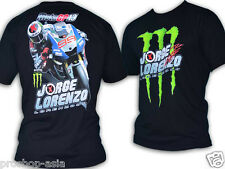 T-Shirt Moto GP Jorge Lorenzo 99 Motogp 2013 Champion Team YZF-R1 Black