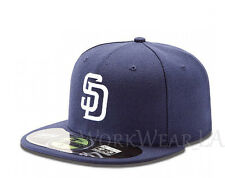 SAN DIEGO PADRES 5950 Team Cap MLB Fitted Baseball Hat On Field Home New Era