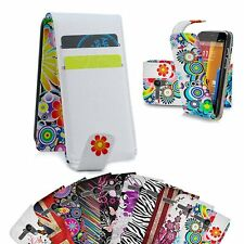 Leather Flip Wallet Case Cover For Motorola Moto G & LCD Screen Protector Film