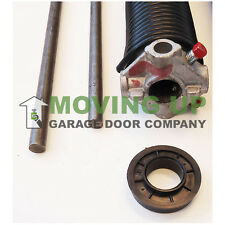 """Right Wind 234 X 2"""" X All Lengths Garage Door Torsion Spring w/ Winding Bars"""