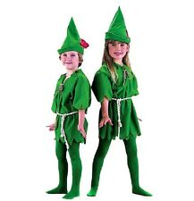 Child Kids Peter Pan Cosplay Costume Fantasy Party Green Peter Pan Dress Up New