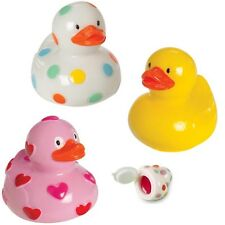 Ducky Duck Lip Balm (3 Styles, U Pick) Baby Shower Party Favor Easter Basket