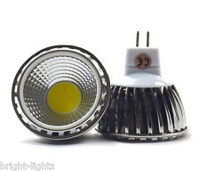 DIMMABLE 12v MR16 LED BULBS SPOTLIGHTS 6W COB BULBS KITCHEN HOME LIGHTING = 50W