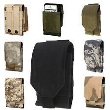 ZY Army Camo Bag For Mobile Phone Hook Loop Belt Pouch Sleeve Holster Cover Case