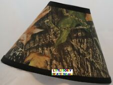 Outdoors Mossy Oak Camouflage Fabric Lamp Shade (Handmade After Ordered)