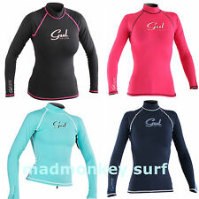 GUL LADIES RASHVEST RASHGUARD LONG SLEEVE UV PROTECTION kayak bodyboard jetski