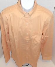 BANANA REPUBLIC Men's Apricot Orange Button Down Shirt Sizes S-M-L