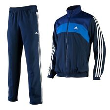 New Mens Adidas Full Tracksuit - Jogging Bottoms, Zip Jacket, Track Top - Blue
