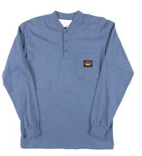 Rasco FRC Flame Resistant Long Sleeve Henley T-Shirts