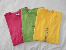 New Unisex Jerzees T-Shirts (Yellow, Green, Pink)  Size XL NWT