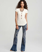 NWT Free People Discharge Bali Flare jeans Pick from 3 washes
