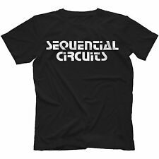 Sequential Circuits T-Shirt in 11 Colours RETRO SYNTH PRO-ONE PROPHET 5 10