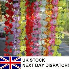 2m Artificial Fake Flowers Ivy Leaf Garland Plants Fake Foliage Decoration