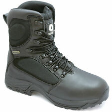 Lambretta Waterproof Steel Toe Cap Leather Safety Boots, Militray Combat Magnum