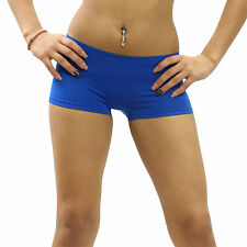 New Short Boy Cut Spankies Dance Exercise Spandex Yoga Tights One Size MUS003