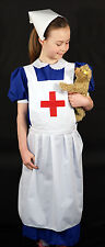 DELUXE WW1-WW2-Edwardian-Wartime-Historical- Child Nurses Apron ONLY