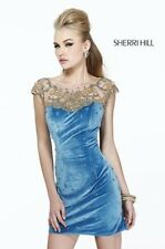 SHERRI HILL 11042  FREE JEWELRY + PRICE MATCH  FORMAL PROM WEDDING BRIDAL DRESS