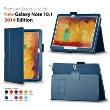 PU Leather Case Cover for Samsung Galaxy Note 10.1 2014 Edition SM-P600 SM-P601