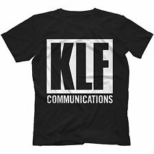 KLF Communications T-Shirt in 11 Colours Loose Fit WHAT TIME IS LOVE