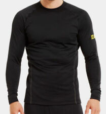 Under Armour Men's Base 2.0 Crew Long Sleeve Base Layer (Black) 1239724-001
