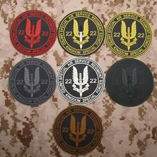 SAS Special Air Service Military Tactical Morale 3D PVC Patch