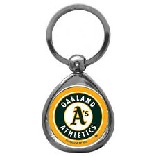 (NEW) ALL MLB Teams - Chrome Key Ring - Holographic Dome Graphics WOW!!