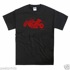 Akira Inspired Bike Motorbike Mens Unisex Anime Manga T-shirt
