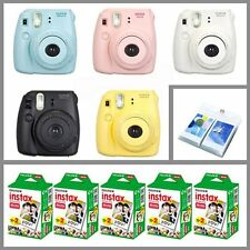 Fujifilm Fuji Instax Mini 8 Polaroid Instant Camera + 100 Film + Photo Album