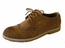 "MENS MAVERICK TAN LACE UP SHOES ""A2111"""