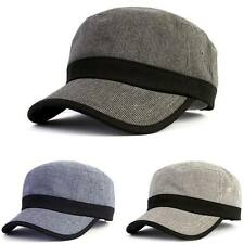 Nwt Shepherd Check Military Cap Army Vintage Hat Distressed Cadet Mens Chic Camo
