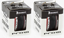 2 Pack Michelin Pro 4 Race 700 x 23c Red Clincher Bike Tire Service Course New