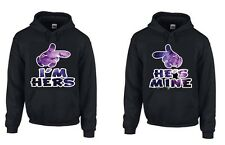 Im hers, Shes Mine, Two Hoodies Perfect for couples, Mickey Hands Galaxy, Girls!
